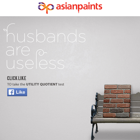 Asianpaints-Husbands Are Useless