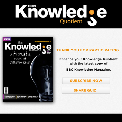 BBC-Knowledge Quotient