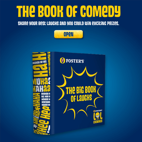 Fosters-Book Of Comedy