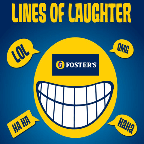 Fosters-Lines Of Laughter