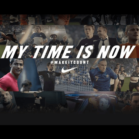 Nike-My Time Is Now