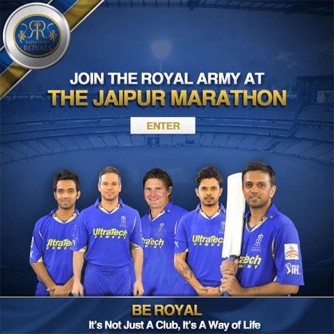 Rajasthan Royals-Jaipur Marathon