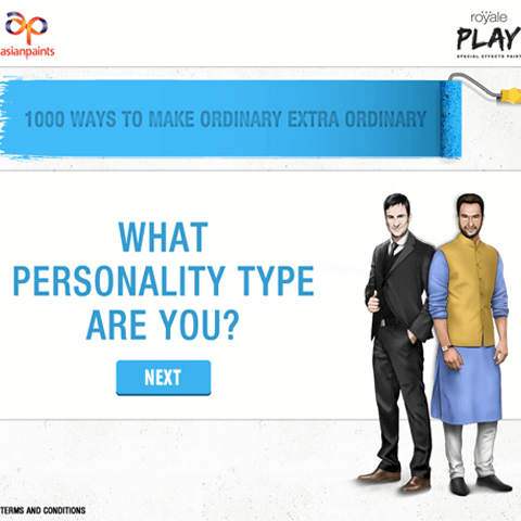 Asianpaints Royale Play-What Personality Type Are You?