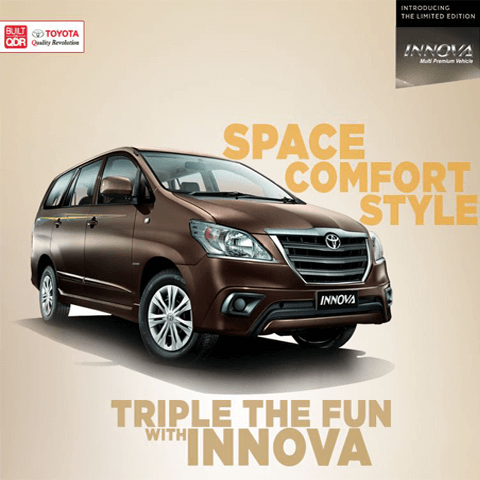 Toyota Innova-Triple The Fun