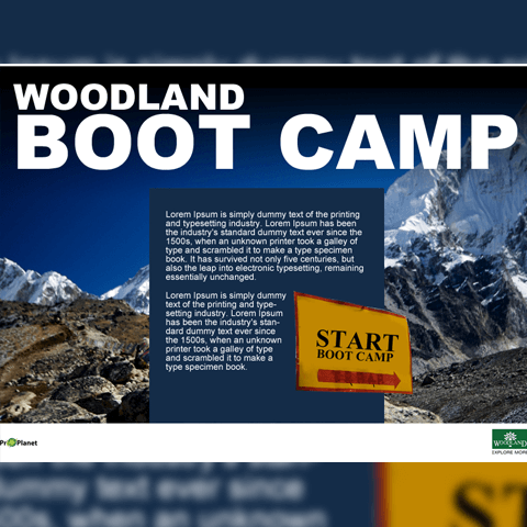 Woodland Boot Camp