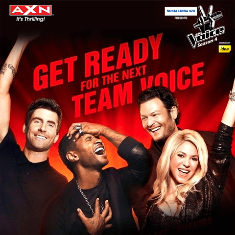 AXN The Voice